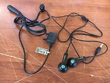 Lot of (100) Sony Ericsson HPM-64 Walkman Handsfree Stereo Headset Silver Black