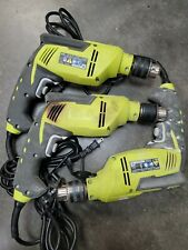 Set 3 Ryobi D620h 58 Inch Variable Speed Reversible Hammer Drill For Parts