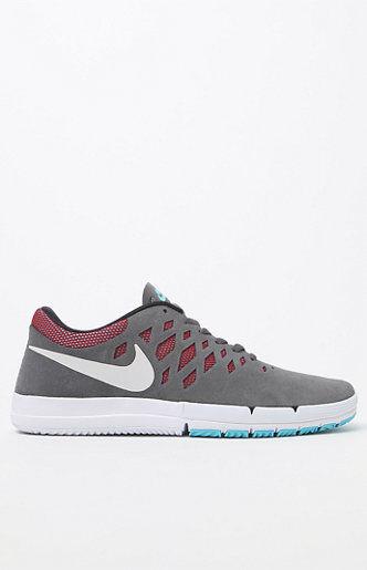 Nike libera sb Uomo scarpe grigio scuro in scarpe da ginnastica nuove 016