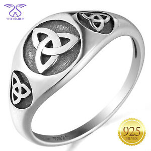 SEMAID 925 Sterling Silver Cross Ring Victorian Style Band Size 6 7 8 9 10 11
