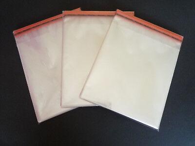 200 Stk Comic Hüllen Schutzhüllen 176x270 mm mit Lasche-Wiwderverschliessbar