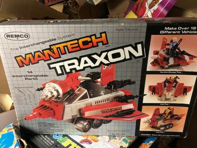 83' Remco Mantech Traxon VEHICLE New old stock Never used Great shape MIB