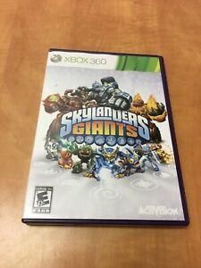 Skylanders: Giants (Microsoft Xbox 360, 2012) no manual