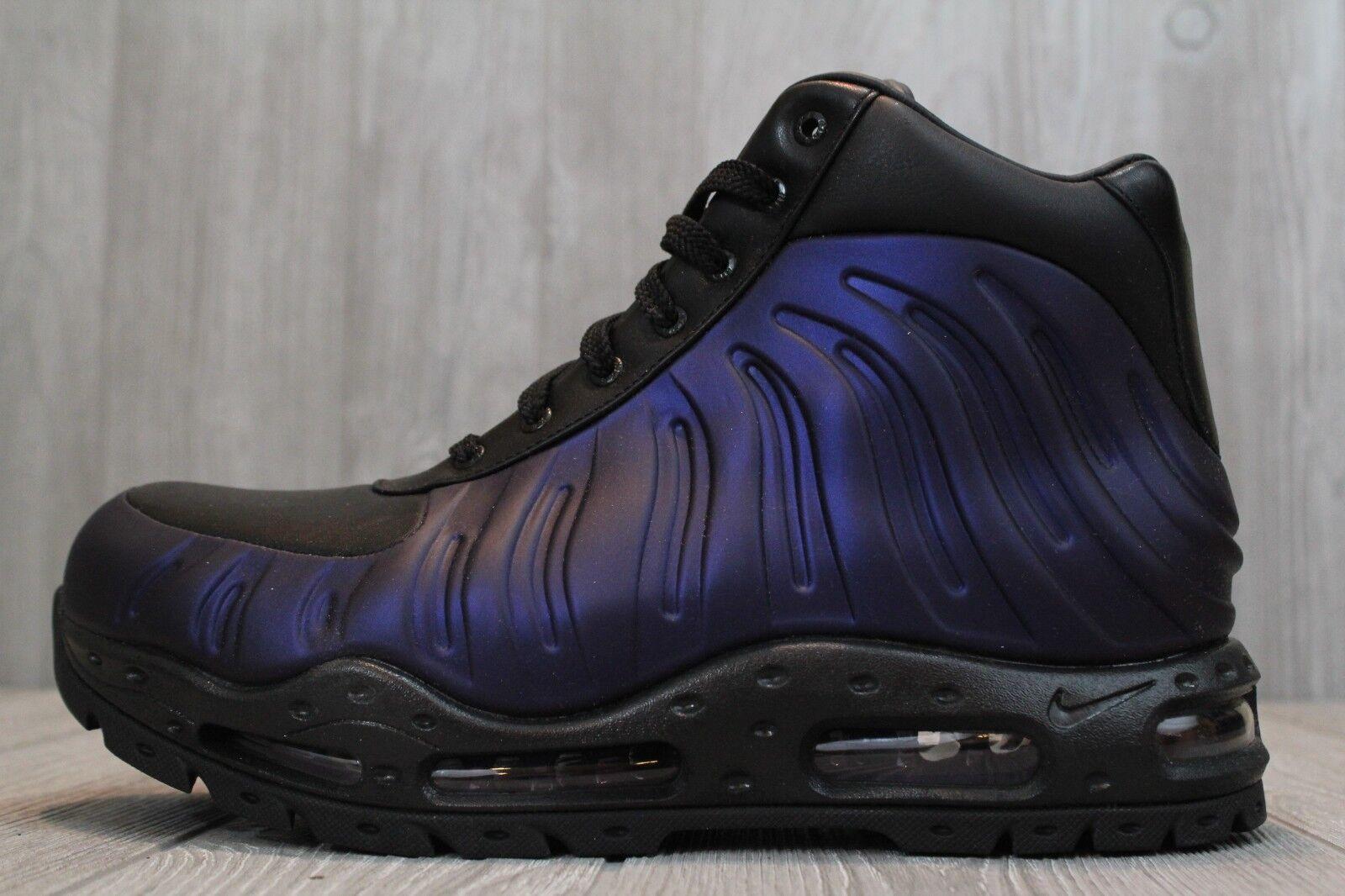 24 New Nike Air Max FoamDome Eggplant Black 500 Boots Sizes 6-13 843749 500 Black 90052c