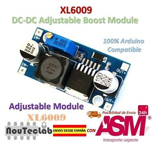 XL6009-DC-dc-booster-Modul-Stromversorgung-Versorgung-adjustable-Super-LM2577