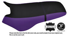 BLACK & PURPLE CUSTOM FITS SEA DOO XP 93-96 AUTOMOTIVE VINYL SEAT COVER + STRAP