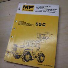 New Listingmassey Ferguson Mf 55c Front Wheel Loader Parts Manual Book Catalog Spare List