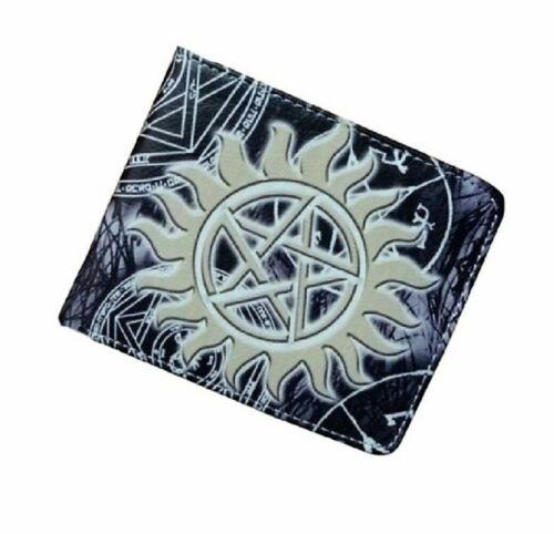 Supernatural Anti Possession Logo Bi Fold Wallet
