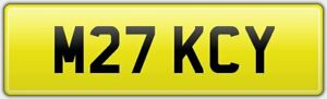MICKY-CLASSIC-CHERISHED-CAR-REG-NUMBER-PLATE-M27-KCY-MICK-MIKE-MICHAEL-MICKEY