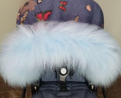 Pram Furs Hoods Trims Pram Winter Kit Univeral Fit Custom Handmade New Arival