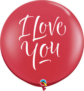 2-x-LARGE-I-LOVE-YOU-BALLOONS-3ft-91cm-QUALATEX-BALLOONS-TWO-BALLOONS