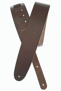 NEW! BROWN D/'ADDARIO 25BL01 BASIC CLASSIC LEATHER GUITAR STRAP