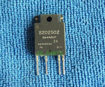 S202S02 SHARP ZIP-4 SIP Type SSR for Medium Power Control