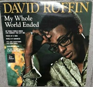 David-Ruffin-LP-My-Whole-World-Ended-STEREO-VINYL-RECORD-FREE-SHIPPING-EX-EX