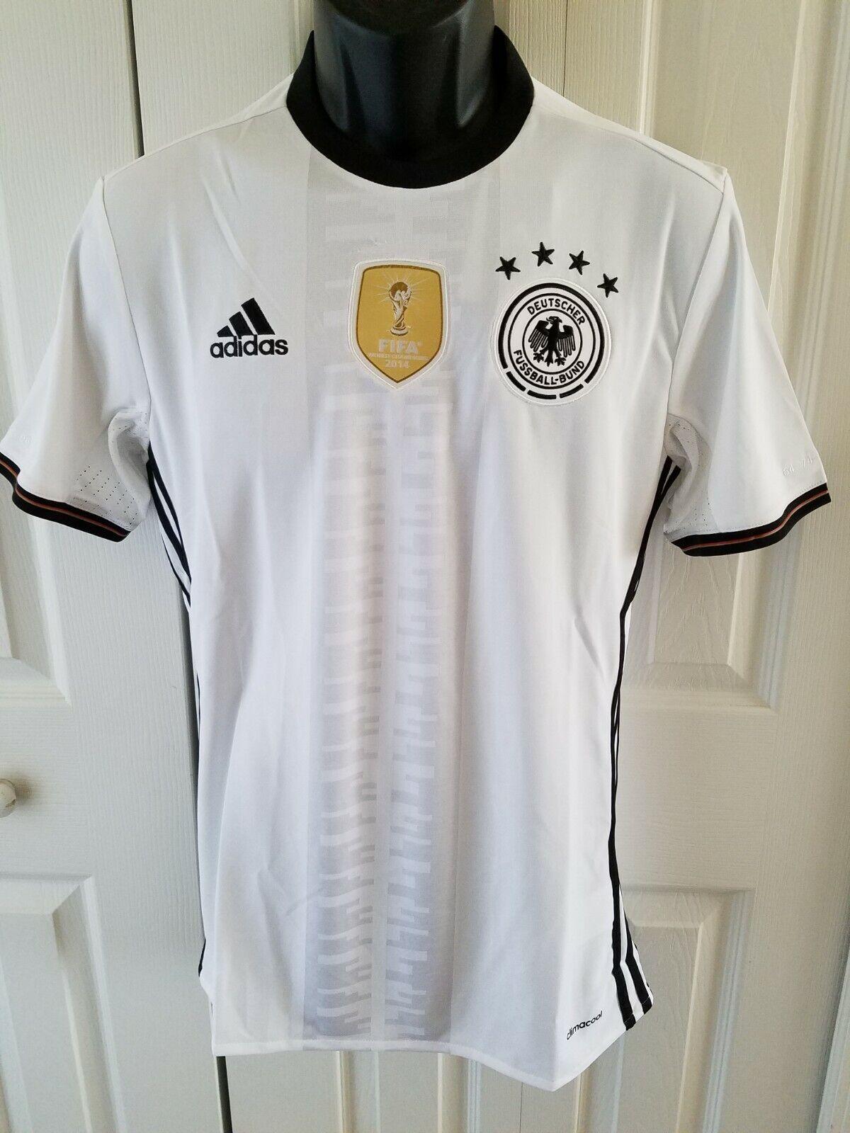 adidas Summer Fan Germany Tee Deutschland Fußball Shirt Herren T-Shirt