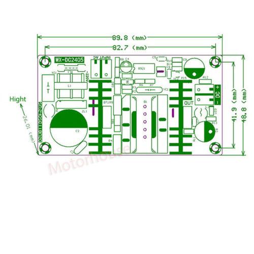 AC-DC 110V 120V 220V 230V to 5V 12V 24V Converter Step-Dow Module Power Supply