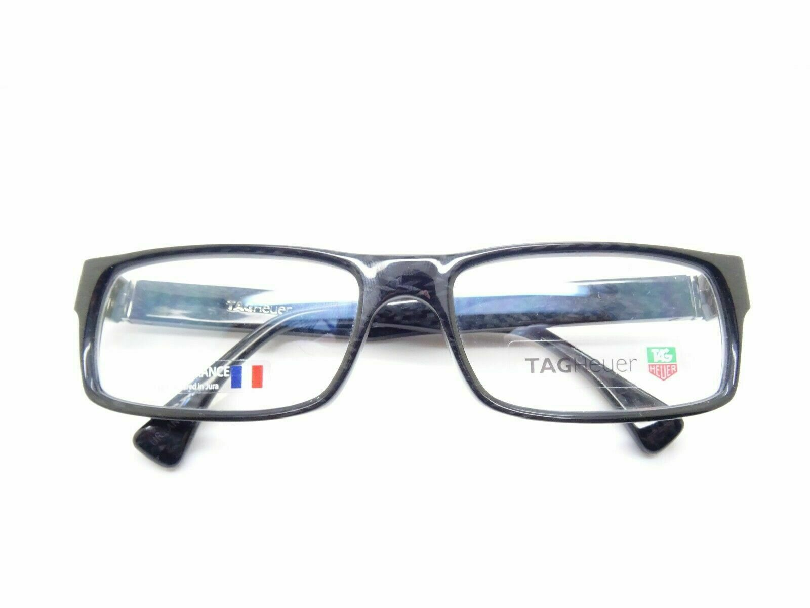 Tag Heuer TH 0501 003 Urban Noir Brille Brillen Gestell Fassung Carbon Neu Rar
