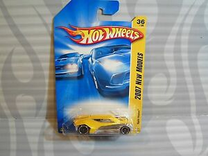 2007-HOT-WHEELS-039-039-NEW-MODELS-039-039-036-SPLIT-VISION-YELLOW