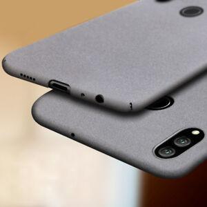 For Huawei Honor 8X 8 9 10 Lite Ultra Slim Sandstone Hard