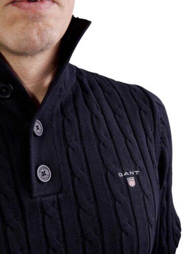 a cavo 80059 Men's collo carbone cotone falce Gant maglia di in Maglione 8PRwwqY