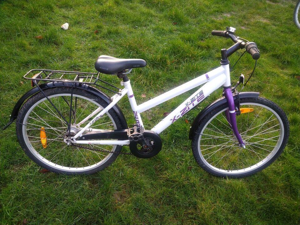 Pigecykel, classic cykel, X-zite