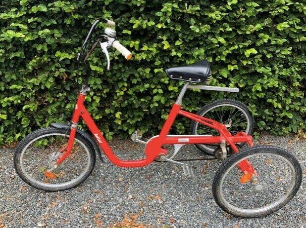 Handicapcykel, BOMI Seniorcykel, 0 gear