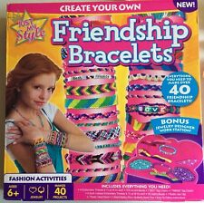Kids Craft Kit Just My Style Create Your Own Friendship Bracelet