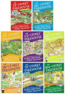 Andy-Griffiths-The-Treehouse-Collection-8-Books-Set-13-Storey-26-Storey-amp-More