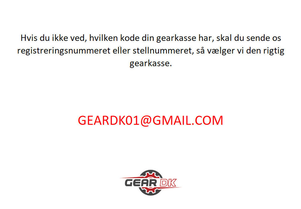Gearkasse DSG DQ250 VW Seat Skoda 1.9TDI HQN