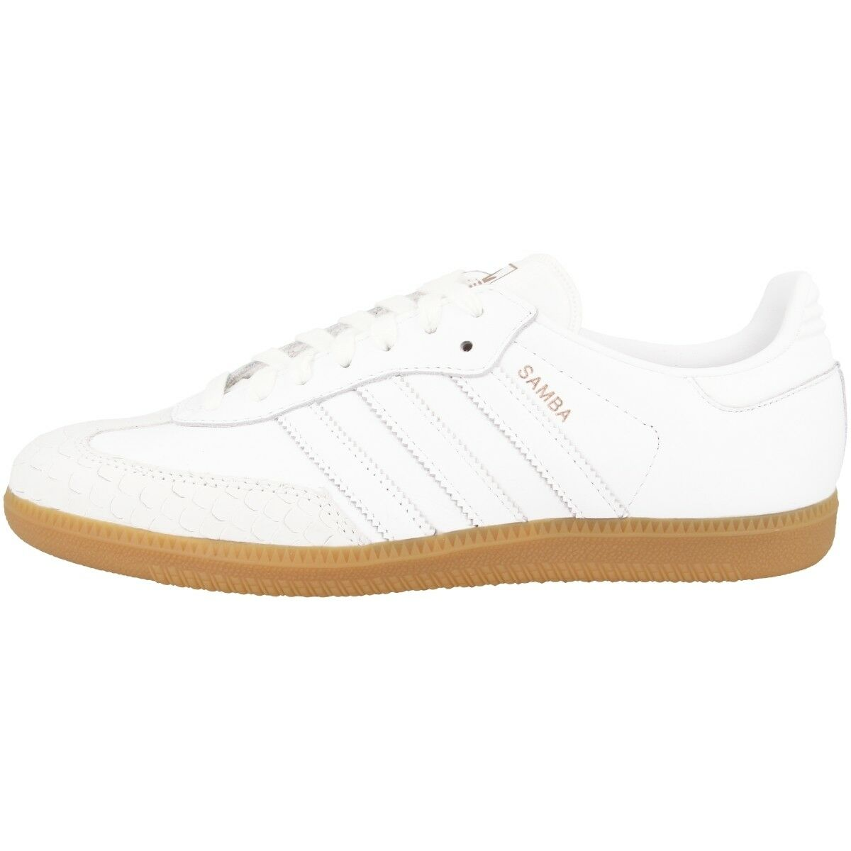 Adidas Samba Zapatillas de Mujer Damas Ocio Zapatos Cuero Blanco cq2640 Fútbol