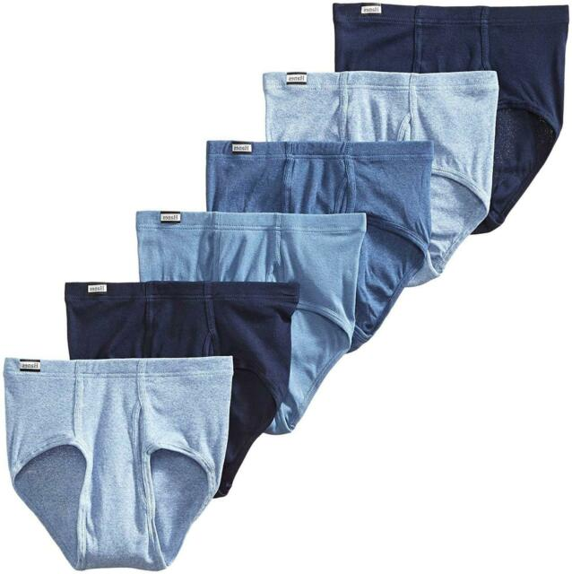 Hanes Men's 6-Pack Tagless No Ride Up Briefs with, Assorted, Size Medium foAq