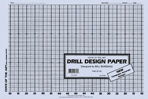 Drill Design Paper Marching Band Grade 3 New 011004030 73999397703 Ebay