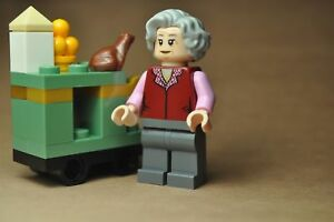 Lego Figurine Minifig Harry Potter The Trolley Witch grand mère hp158 75955 NEUF