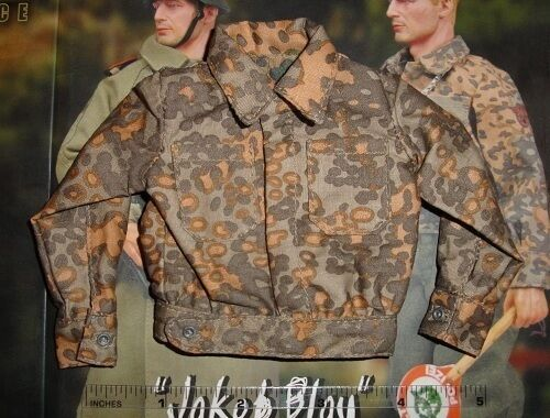 DiD 1//6 Scale WWII German Feldgendarmerie Jakob Blau Camo Uniform Tunic D80055