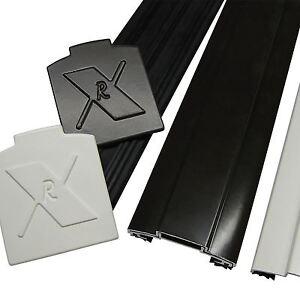 Alukap Xr 45mm Glazing Bar Aluminium Screw Down Rafter