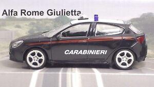 MondoMotors-53012-FIAT-Alfa-Romeo-Giulietta-034-CARABINIERI-034-METAL-Scala-1-43