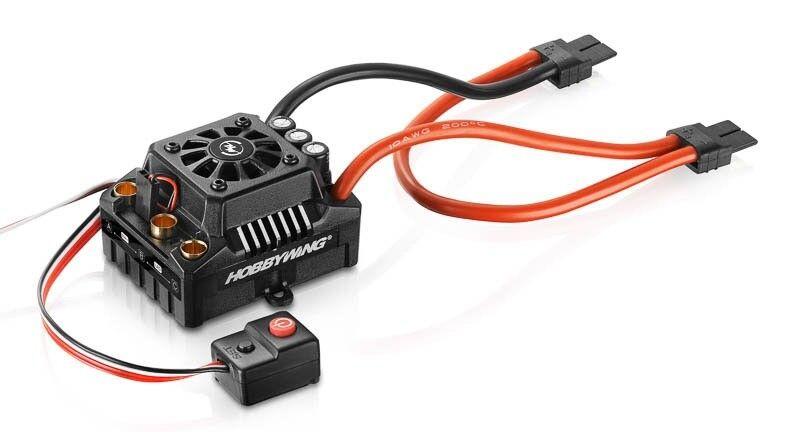 Hobbywing Ezrun bl regulador max8 v3 150a Bec 6a 6s WP 1 8 TRX-hw30103201