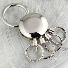 Keychain Waist Pants Belt Key Chain Detachable Keychain 4 Ring Keyring Holder