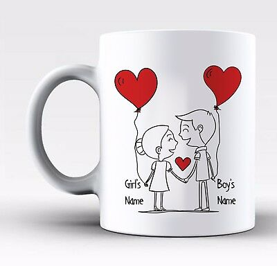 Personalised Valentines Day Gift Mug