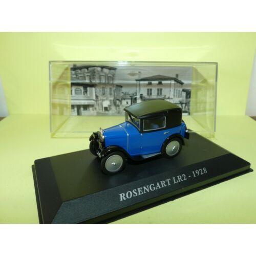 ROSENGART LR2 1928 Bleu et Noir ALTAYA 1:43
