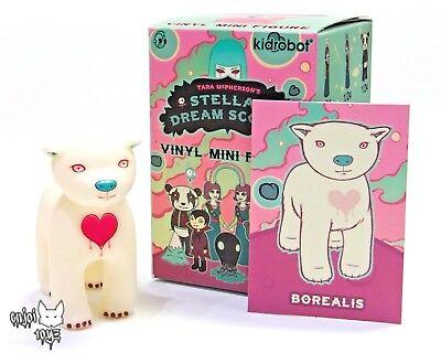 Tara McPherson Kidrobot Stellar Dream Scouts BLUE MYSTERY MOUNTAIN Vinyl Mini