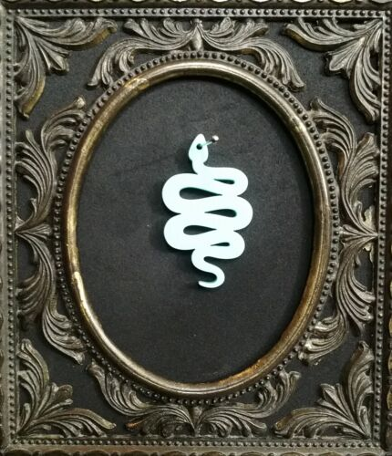 5x snake laser cut acrylic charms//pendants// cabochons// jewellery making
