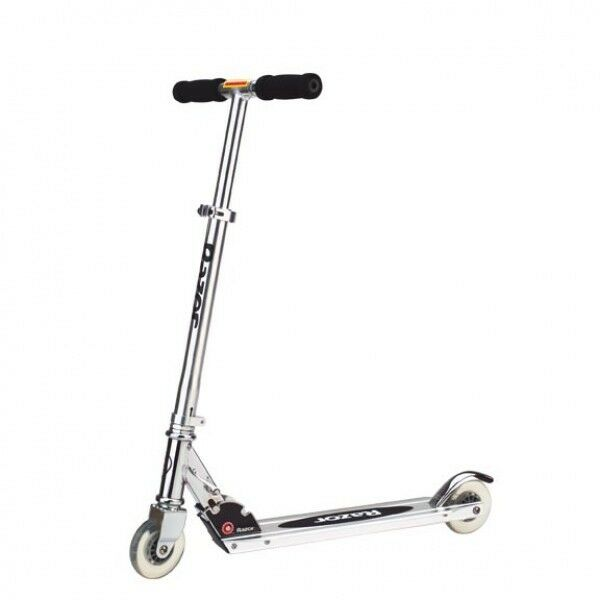 Razor A Kick Scooter - Silver Clear
