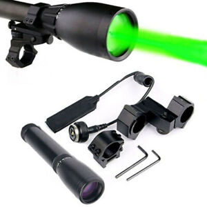 Long-Distance-Green-Laser-Designator-with-Adjustable-Torch-Scope-Mount