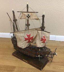 Antique 20 Santa Maria Model Ship Ebay
