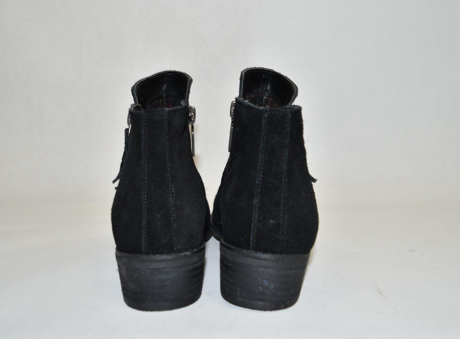 New  Blondo Liam Waterproof Waterproof Waterproof Bootie Black Suede B5859 Size 7 b778f2