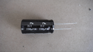 1x Capacitor Nippon 2200uF 6.3v 105C 10x20mm Radial US Seller