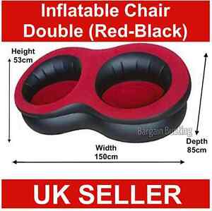 NEW-DOUBLE-INFLATABLE-FLOCKED-CHAIR-SEAT-CAMPING-SOFA-LOUNGER-RELAXING-COUCH-UK