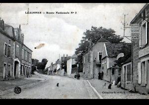 LEZINNES-89-HOTEL-des-VOYAGEURS-amp-COMMERCE-034-GRANDS-ECONOMATS-FRANCAIS-034-en-1915