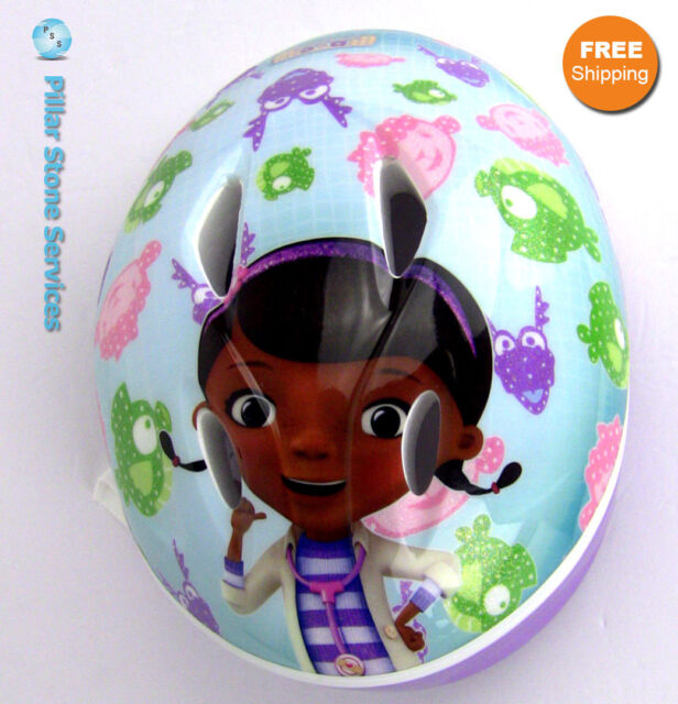 Bell Doc McStuffins Bicycle & Sports Helmet True Fit Toddler 3 Disney  Licensed